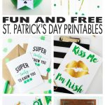 Free St. Patrick's Day Printables!   Eighteen25   Free Printable St Patrick's Day Banner