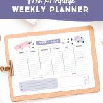 Free Stylish + Feminine Printable Meeting Agenda Template   Free Printable School Agenda Templates