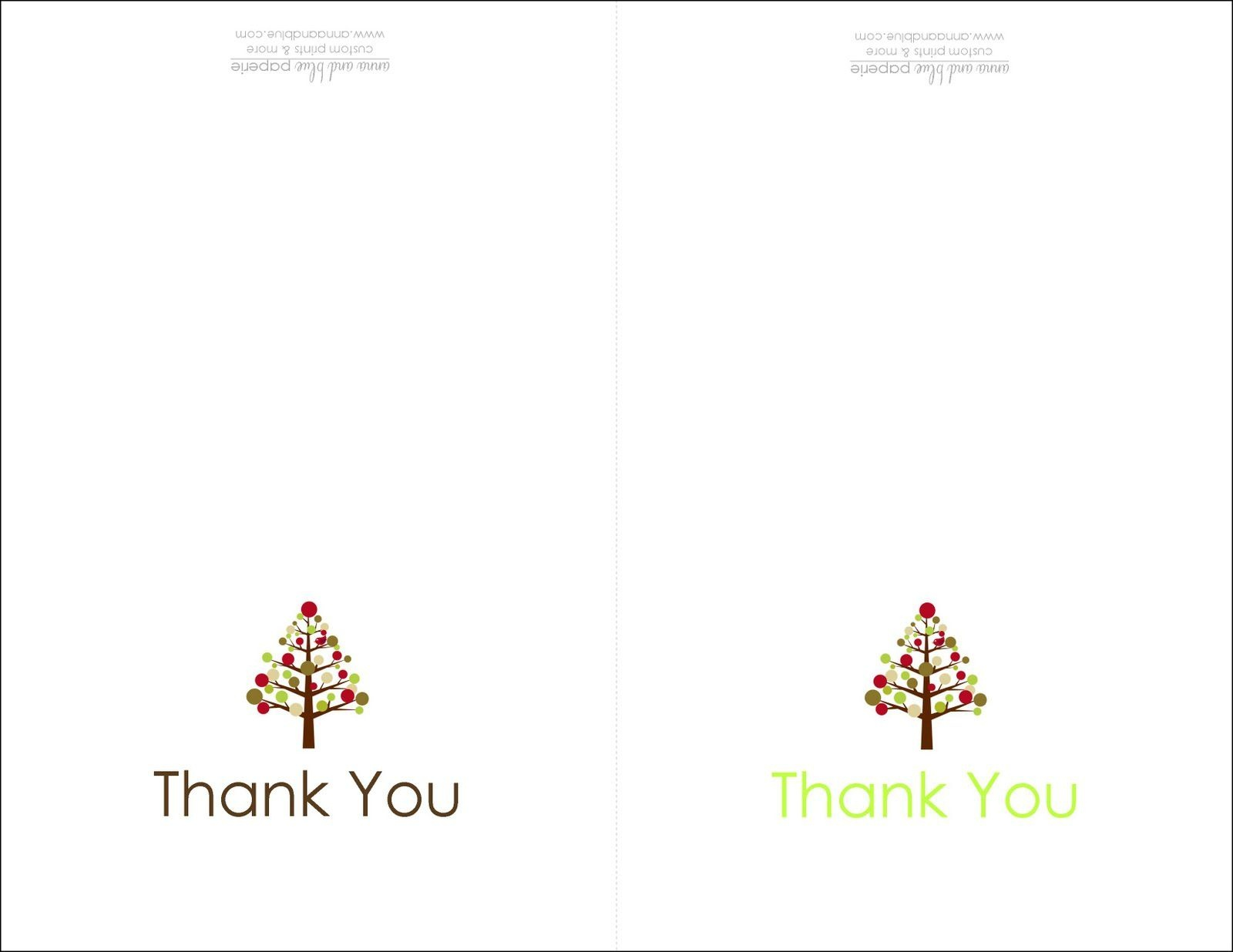 Free Thank You Card Maker - Kaza.psstech.co - Free Printable Custom Thank You Cards