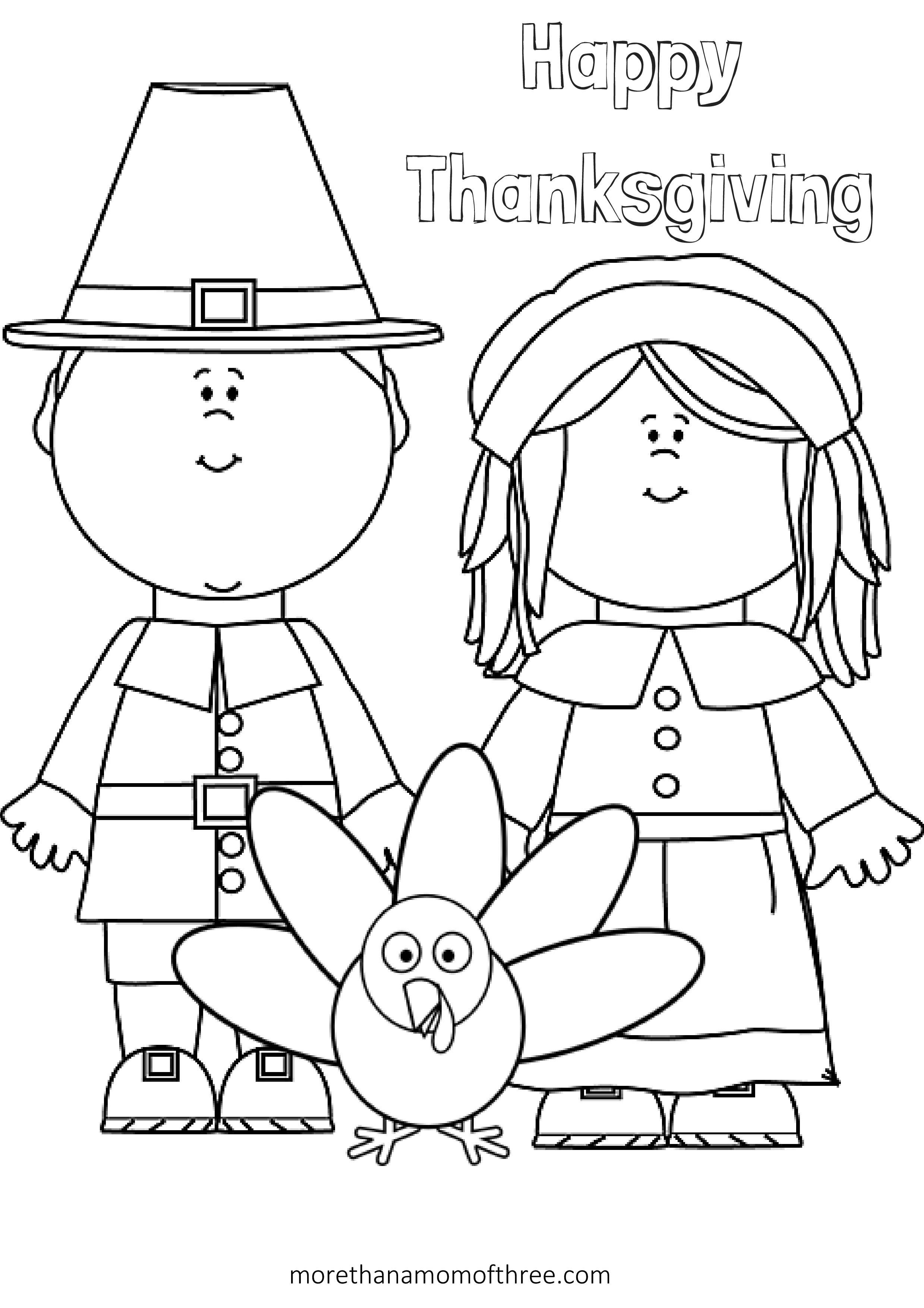 Free Thanksgiving Coloring Pages Printables For Kids | Thanksgiving - Free Printable Thanksgiving Coloring Pages