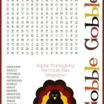 Free Thanksgiving Puzzles ~ Word Search And Maze Printable | Crafty   Thanksgiving Games Printable Free