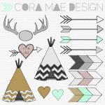 Free Tribal Clipart | Amanda's Baby Shower | Clip Art, Printables, Ideas   Free Printable Teepee