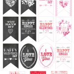 Free Valentine Gift Tag Printables   Sohosonnet Creative Living   Free Printable Valentine Tags