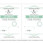 Free Wedding Invitation Template | Mountainmodernlife   Free Printable Wedding Invitations