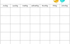 Free Weekly Schedule Maker Blank Work Schedules Template – Free Printable Work Schedule Maker