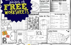 Free Worksheets – 200,000+ For Prek-6Th | 123 Homeschool 4 Me – Free Printable Activities