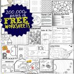 Free Worksheets   200,000+ For Prek 6Th | 123 Homeschool 4 Me   Free Printable Worksheets