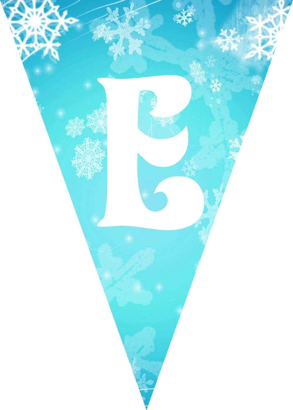 Frozen Party Ideas With Free Printables - Frozen Happy Birthday Banner Free Printable