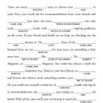 Fun Mad Lib Game For Baby Showers | Games And Puzzles | Free Mad   Mad Libs Online Printable Free