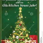 German Corporate Greeting Card For Winter Holiday. Stock   Free Printable German Christmas Cards