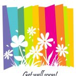 Get Well #card Free Printable   Fast Recovery Flowers Greeting Card   Free Printable Get Well Cards