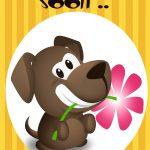 Get Well Soon Free Printable Get Well Soon Puppy Greeting Card   Free Printable Get Well Cards
