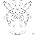 Giraffe Mask Coloring Page | Free Printable Coloring Pages   Giraffe Mask Template Printable Free