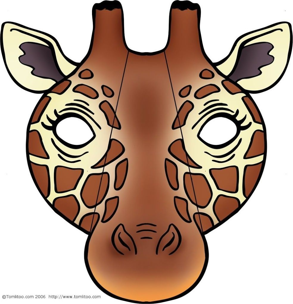 Giraffe Mask | Masks Be Anyone Or Anything Free Printable - Giraffe Mask Template Printable Free