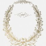 Golden Wreath   Wedding Invitation Template (Free) | Greetings   Free Printable Engagement Invitations