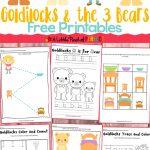 Goldilocks And The Three Bears Free Printables | Fun Printable   Free Printable Goldilocks And The Three Bears Story