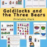 Goldilocks And The Three Bears Printable Pack | Free Printable   Free Printable Goldilocks And The Three Bears Story