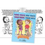 Good Touch, Bad Touch Activities Book (Bilingual) | Positive Promotions   Free Printable Good Touch Bad Touch Coloring Book