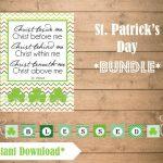 Grace & Grit Design Co.   Free Printable St Patrick's Day Banner