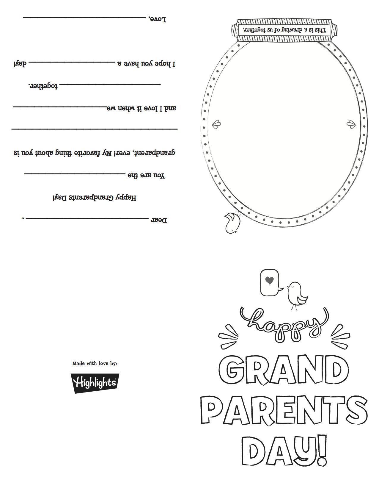 Grandparentsdaycard_Copy   Grandparents Day   Grandparents Day - Grandparents Day Cards Printable Free