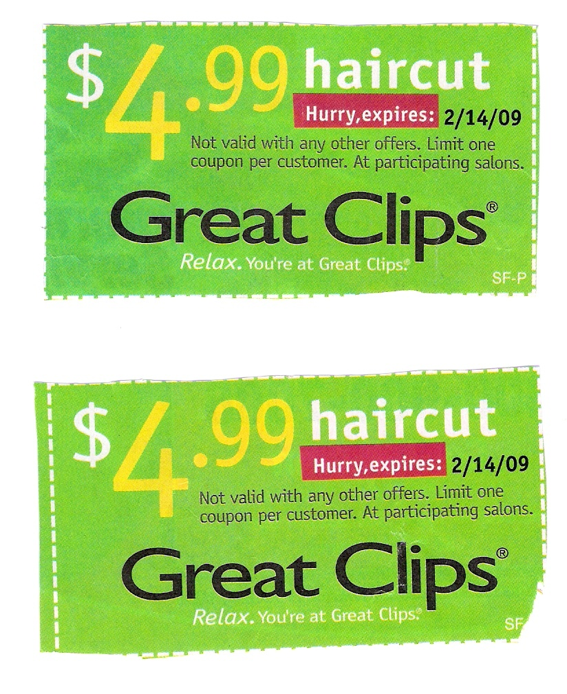 Great Clips Coupons Cincinnati : Lax World - Supercuts Free Haircut Printable Coupon