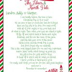 Growing Up Godbold: {Elf On The Shelf} Welcome Letter With Free   Free Printable Elf On The Shelf Letter