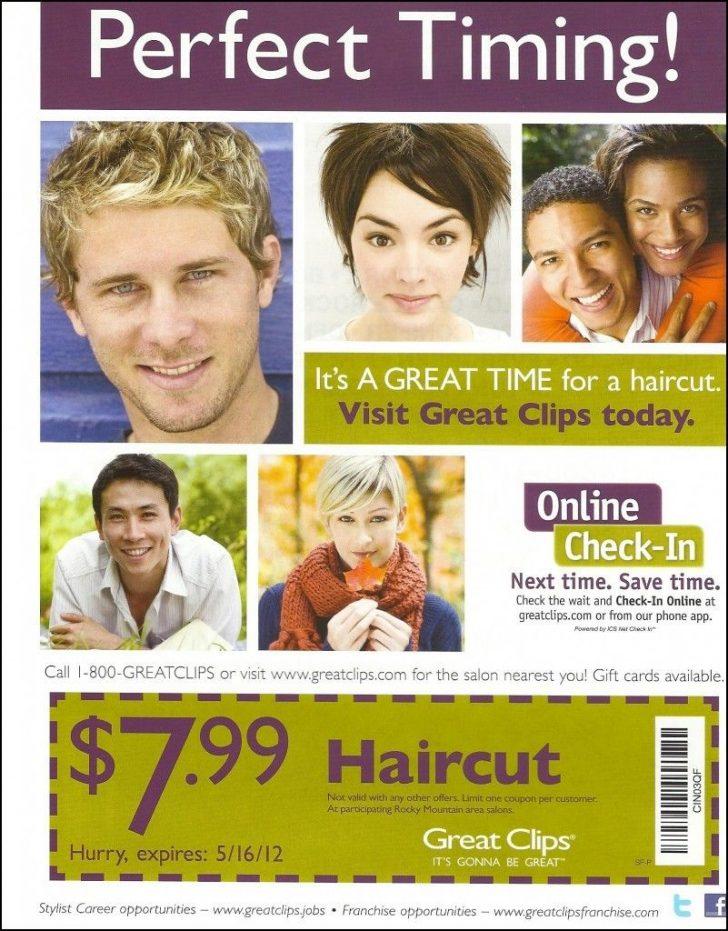 Sports Clips Free Haircut Printable Coupon