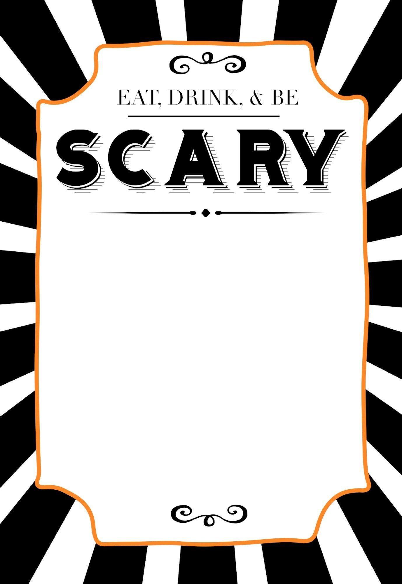 Halloween Invitations Free Printable Template | Yw | Halloween - Free Printable Halloween Invitations