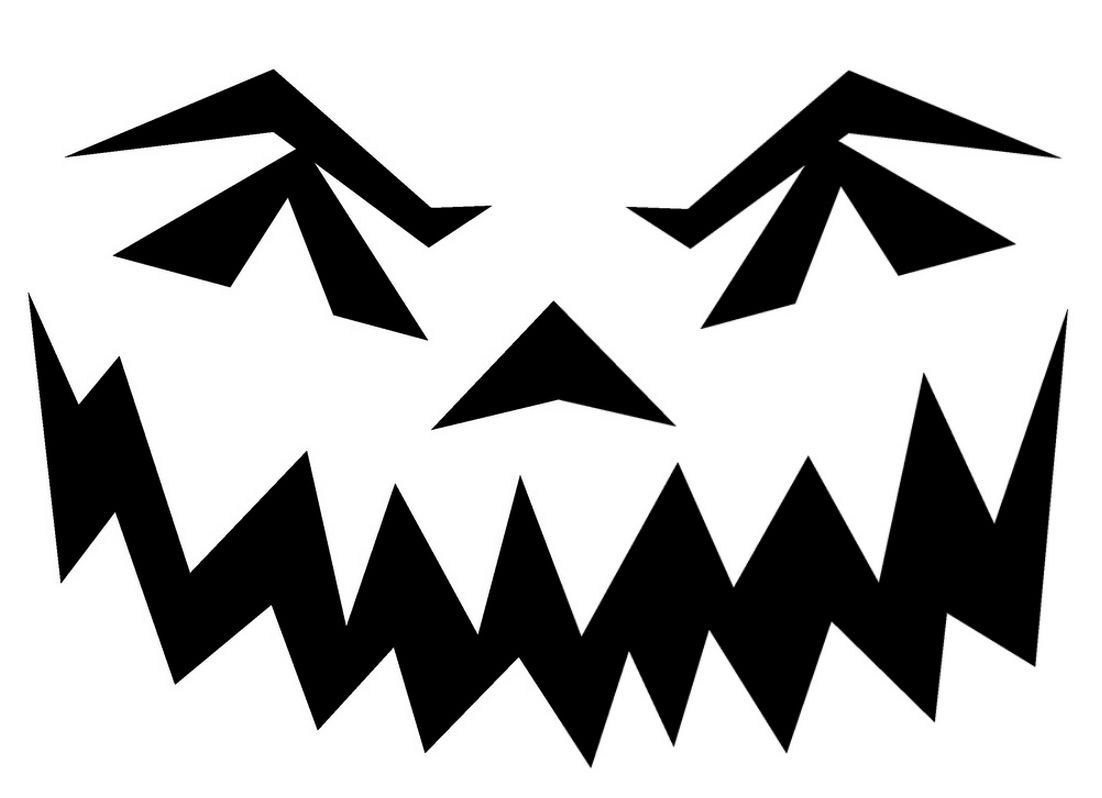 Halloween Pumpkin Stencils To Print | Pin Scary Pumpkin Stencils - Free Printable Scary Pumpkin Patterns