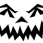 Halloween Pumpkin Stencils To Print | Pin Scary Pumpkin Stencils   Scary Pumpkin Patterns Free Printable