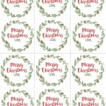 Hand Painted Gift Tags Free Printable | Gift Ideas | Christmas Gift   Free Printable Gift Tags Personalized