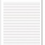 Handwriting Paper   Free Printable Handwriting Paper For First Grade