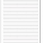 Handwriting Paper   Free Printable Writing Paper