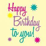 Happy Birthday Printable Art | Free Birthday Graphics Happy Birthday   Birthday Clipart Free Printable