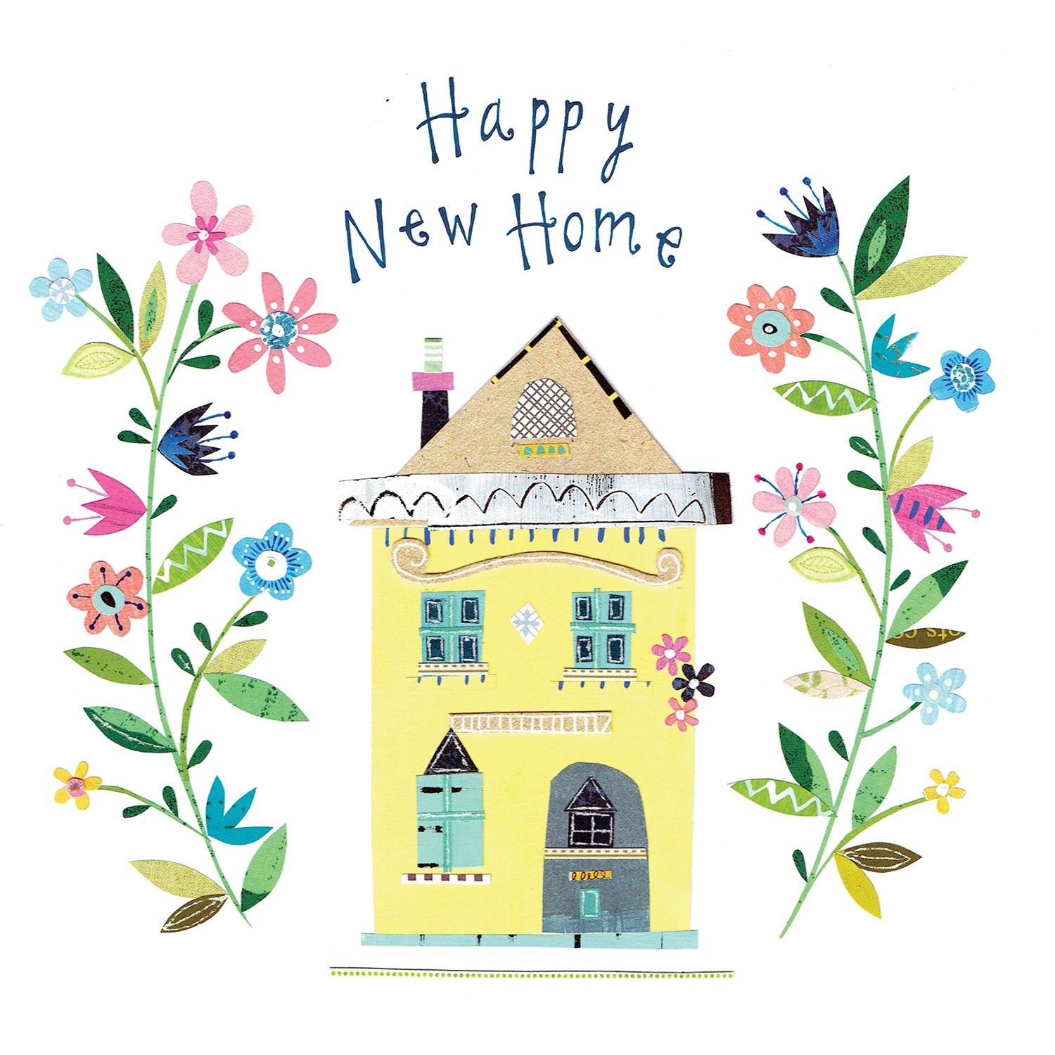 Happy New Home - Congratulations Card (Free) | Greetings Island - Welcome Home Cards Free Printable