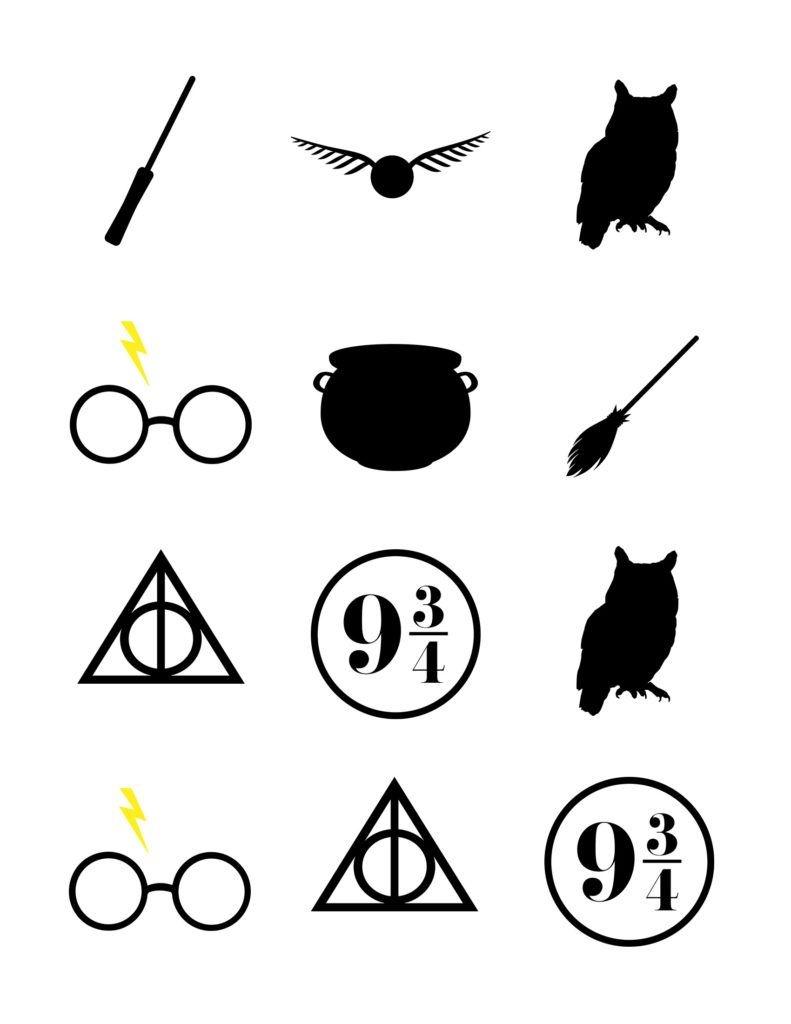 Harry Potter Baby Shower | Diy & Crafts | Harry Potter Baby Shower - Free Printable Harry Potter Clip Art
