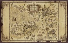 Harry Potter Map | Treasure Map Inspiration | Harry Potter – Free Printable Marauders Map