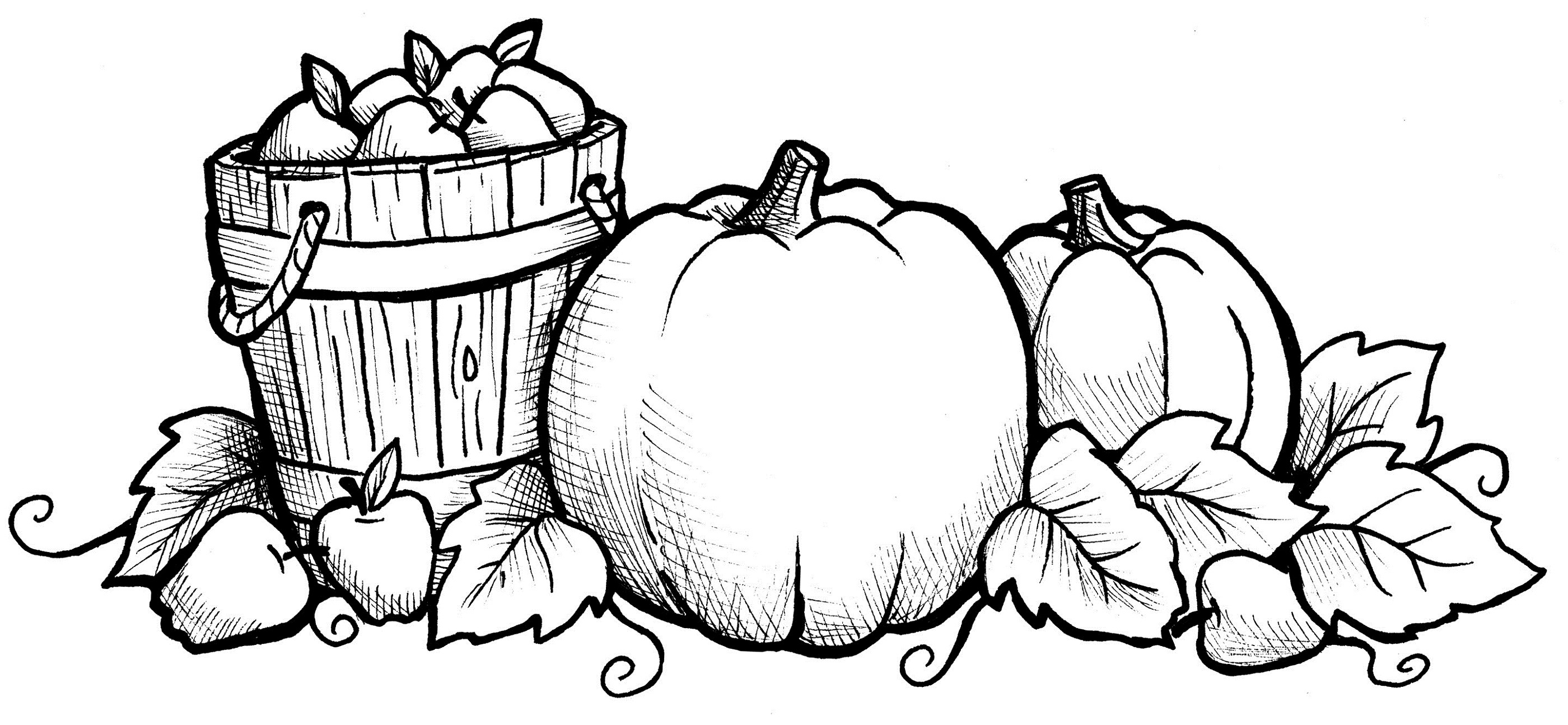 Harvest Coloring Pages - Best Coloring Pages For Kids - Free Printable Fall Harvest Coloring Pages