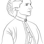 Helen Keller Coloring Page   Coloring Home   Free Printable Pictures Of Helen Keller