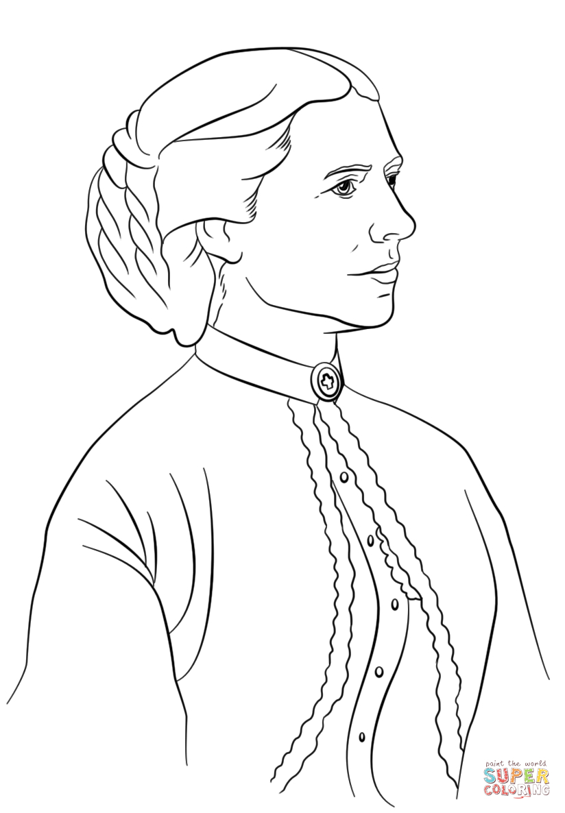 Helen Keller Coloring Page - Coloring Home - Free Printable Pictures Of Helen Keller