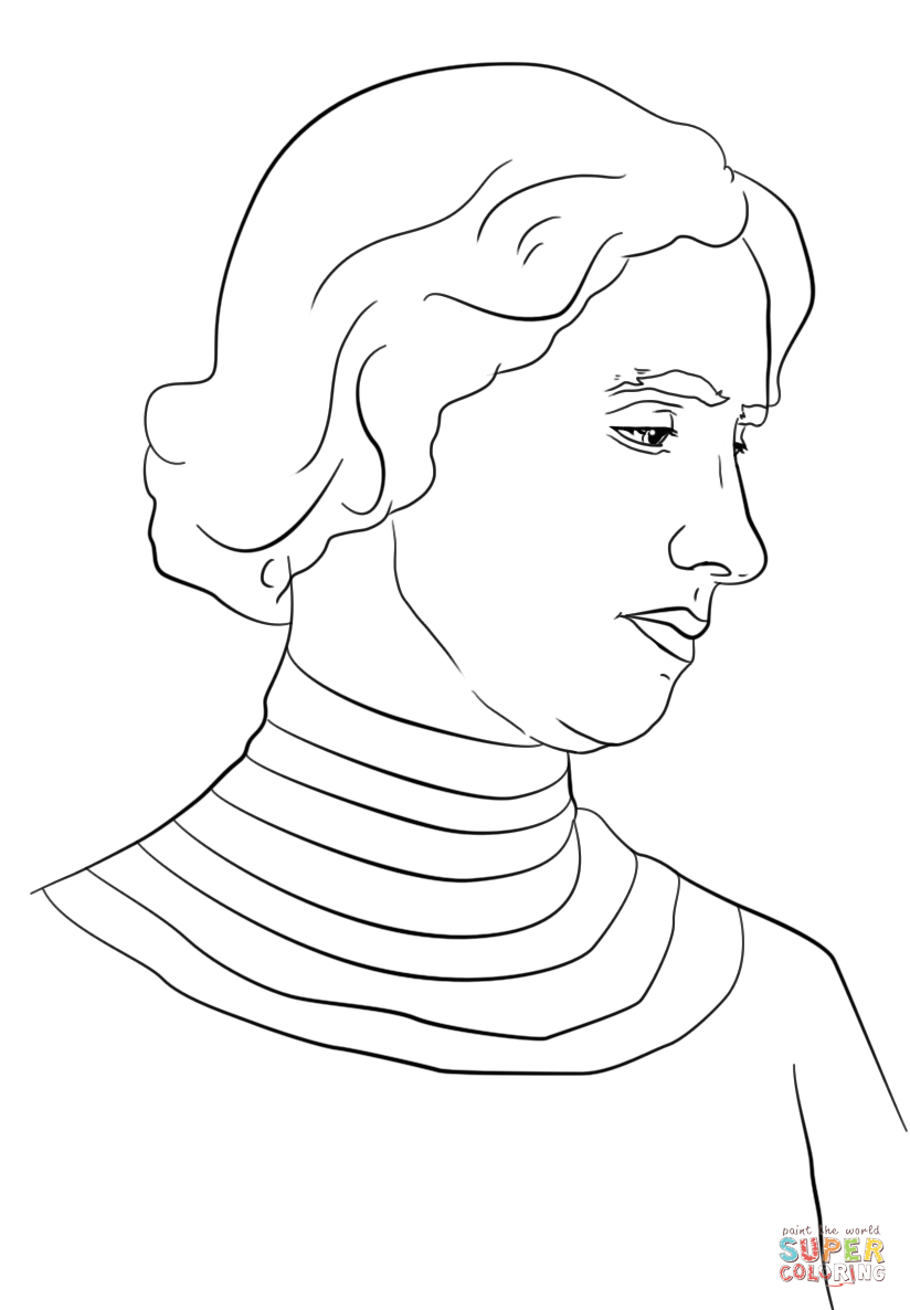 Helen Keller Coloring Page | Free Printable Coloring Pages - Free Printable Pictures Of Helen Keller