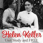 Helen Keller Unit Study And Free Printables   Homeschool Giveaways   Free Printable Pictures Of Helen Keller