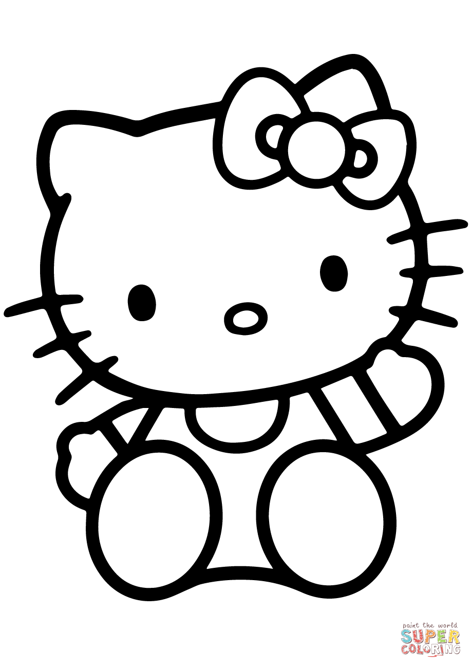 Hello Kitty Coloring Page | Free Printable Coloring Pages - Free Printable Hello Kitty Pictures