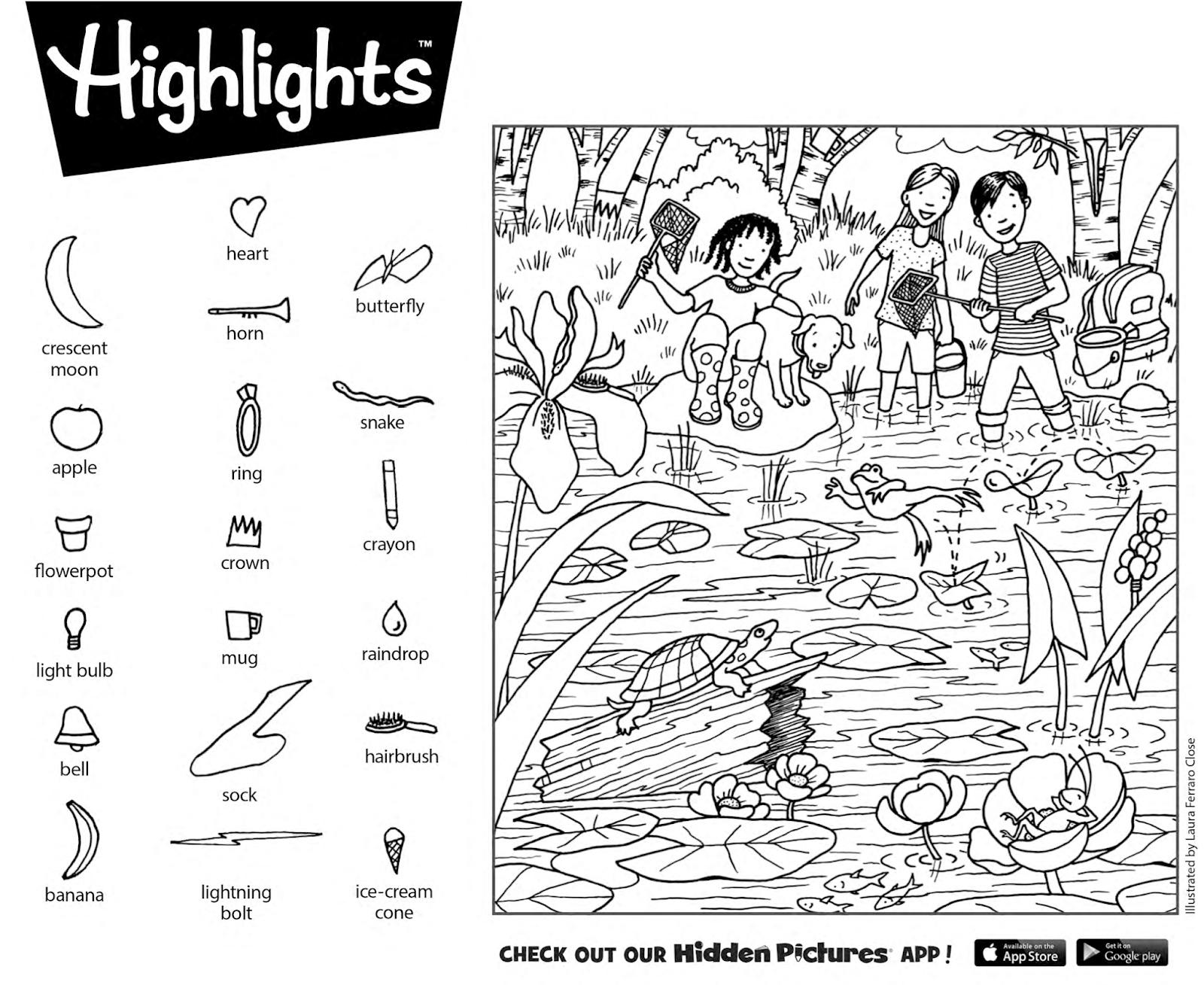 Hidden Pictures 2019 - Tipss Und Vorlagen - Free Printable Fall Hidden Pictures