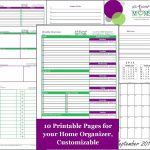 Home Organization Printables | Home Organizer  Free Printable | All   Free Printable Home Organizer Notebook