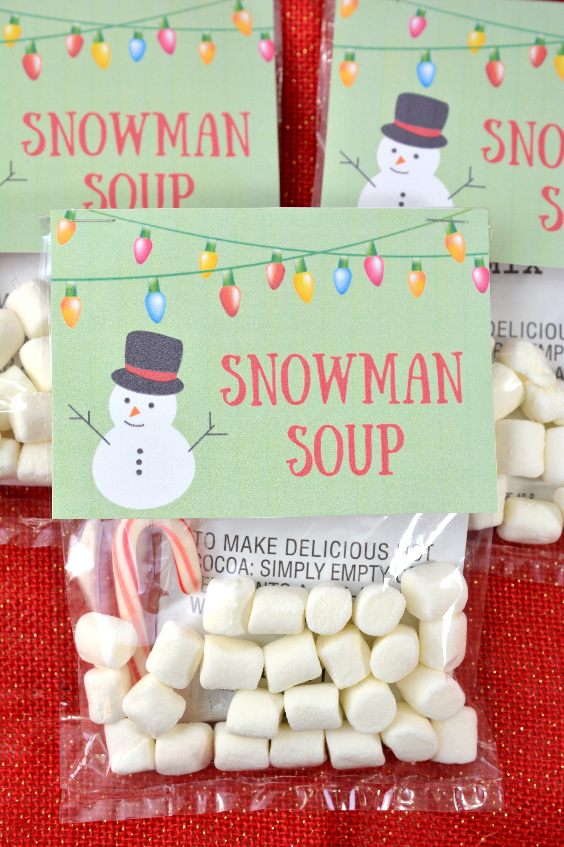 Homemade Holiday Gift Idea: Snowman Soup With Free Printable - About - Snowman Soup Free Printable