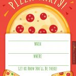 Hostess Helpers: Free Pizza Party Printables | For My Baby Jayden   Free Printable Italian Dinner Invitations