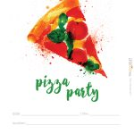 Hostess Helpers: Free Pizza Party Printables | Tea Party Birthday   Free Printable Italian Dinner Invitations