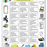 House Riddles (1)   Easy Worksheet   Free Esl Printable Worksheets   Free Printable Riddles