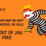 How Ex Cop Jerome Jacobson Rigged Mcdonald's Monopoly Game And Stole   Get Out Of Jail Free Card Printable